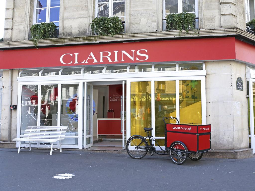 Pop-up store Clarins