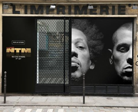 La frénésie des magasins éphémères chez les artistes