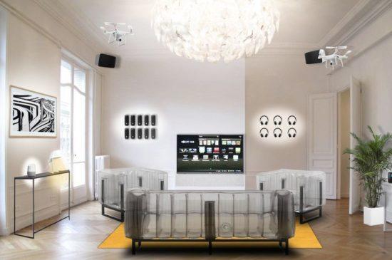 L'appartement du futur par Fnac et Darty