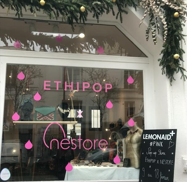 Interview Ethipop dans son pop-up store