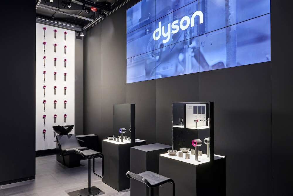 Le concept store Dyson