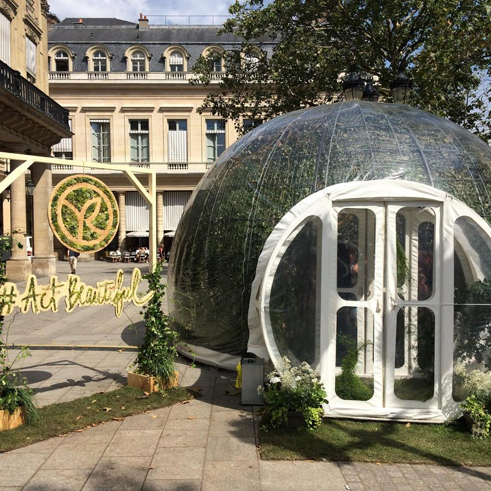 Pop-up store Yves Rocher, Place Colette