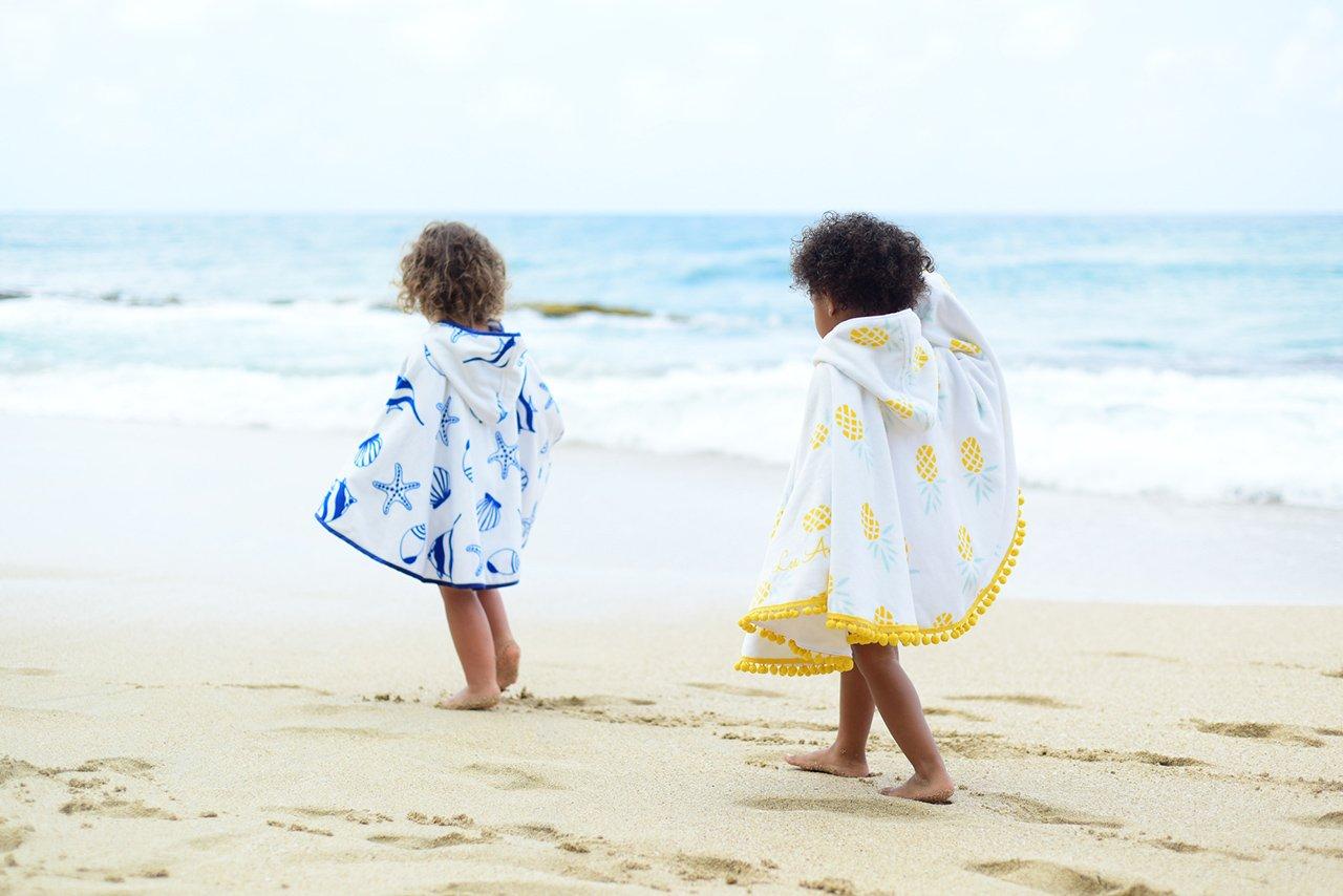Ponchos enfants Les Antillaises