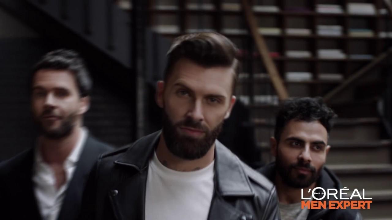 publicité l'oréal menexpert barber club