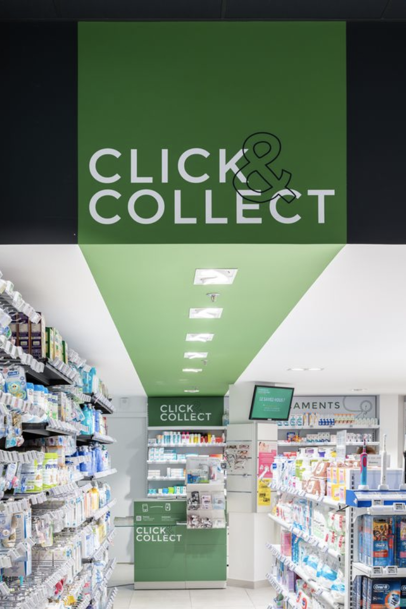 Inspiration Click & Collect pharmacie