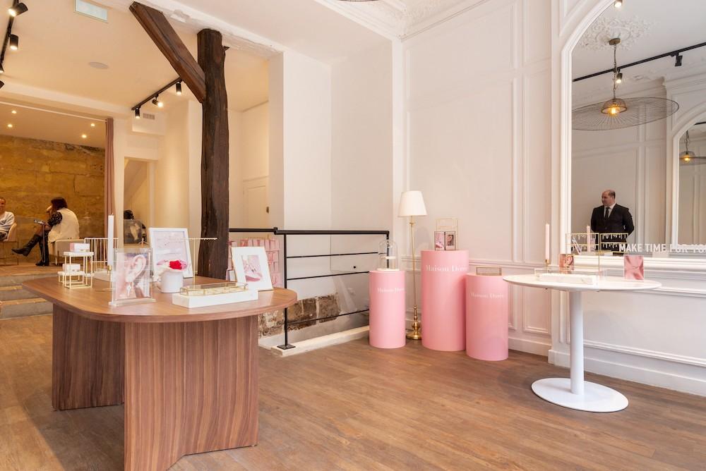 Pop up store Maison Dorée Paris Marais