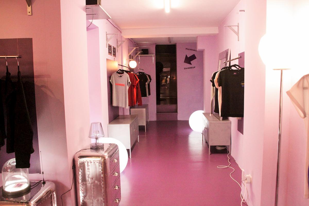 Pop up store Meuf Paris