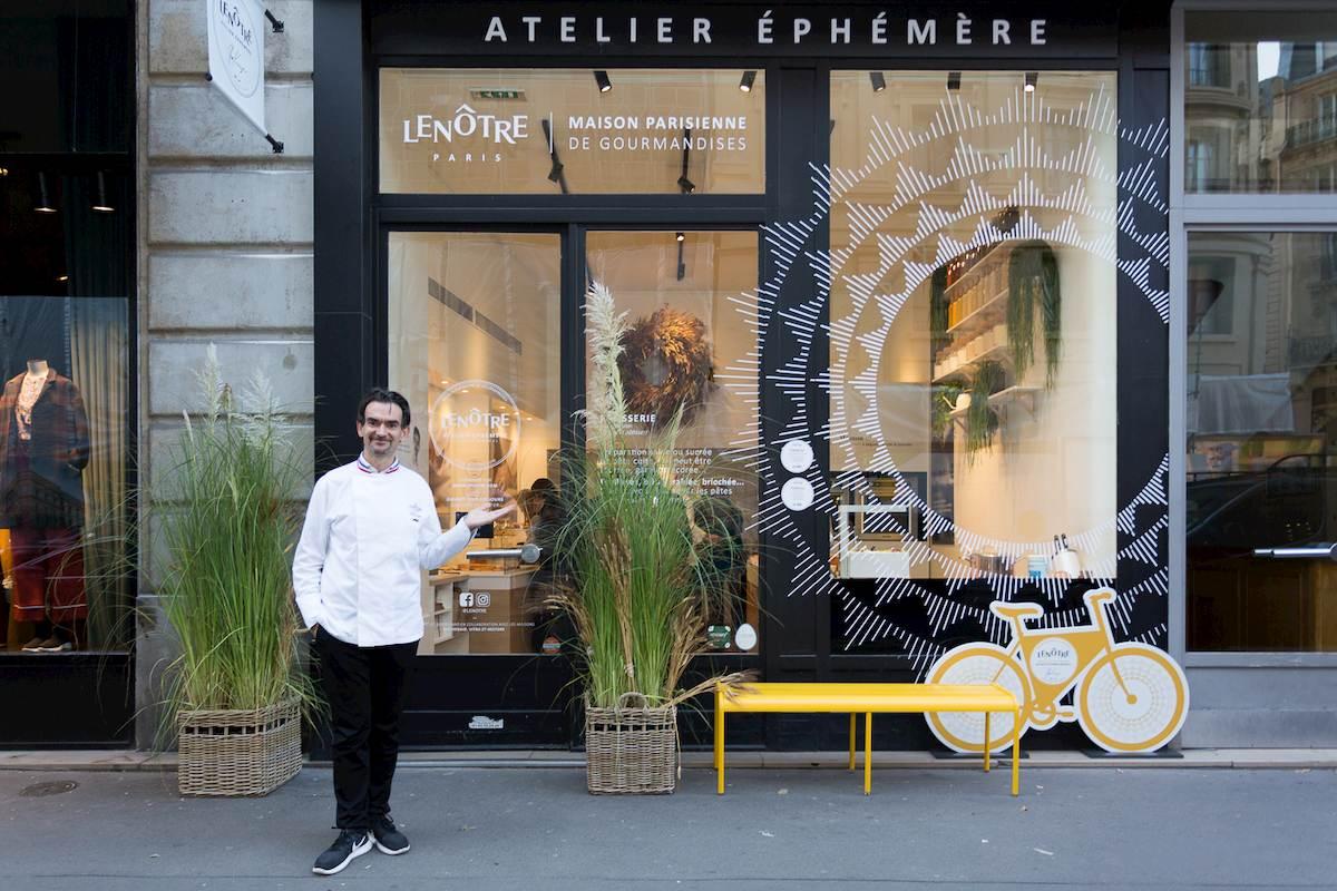 La pâtisserie éphémère LeNôtre