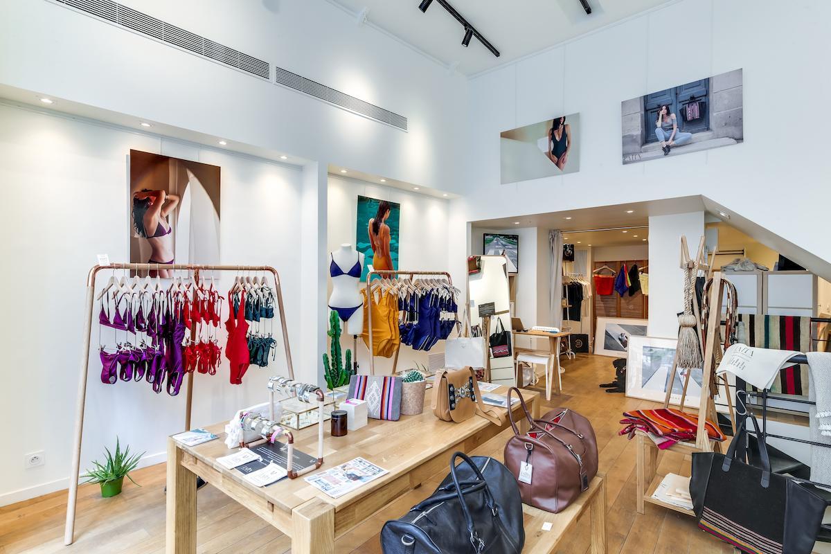 Concept store ANJA Paris Etienne Marcel