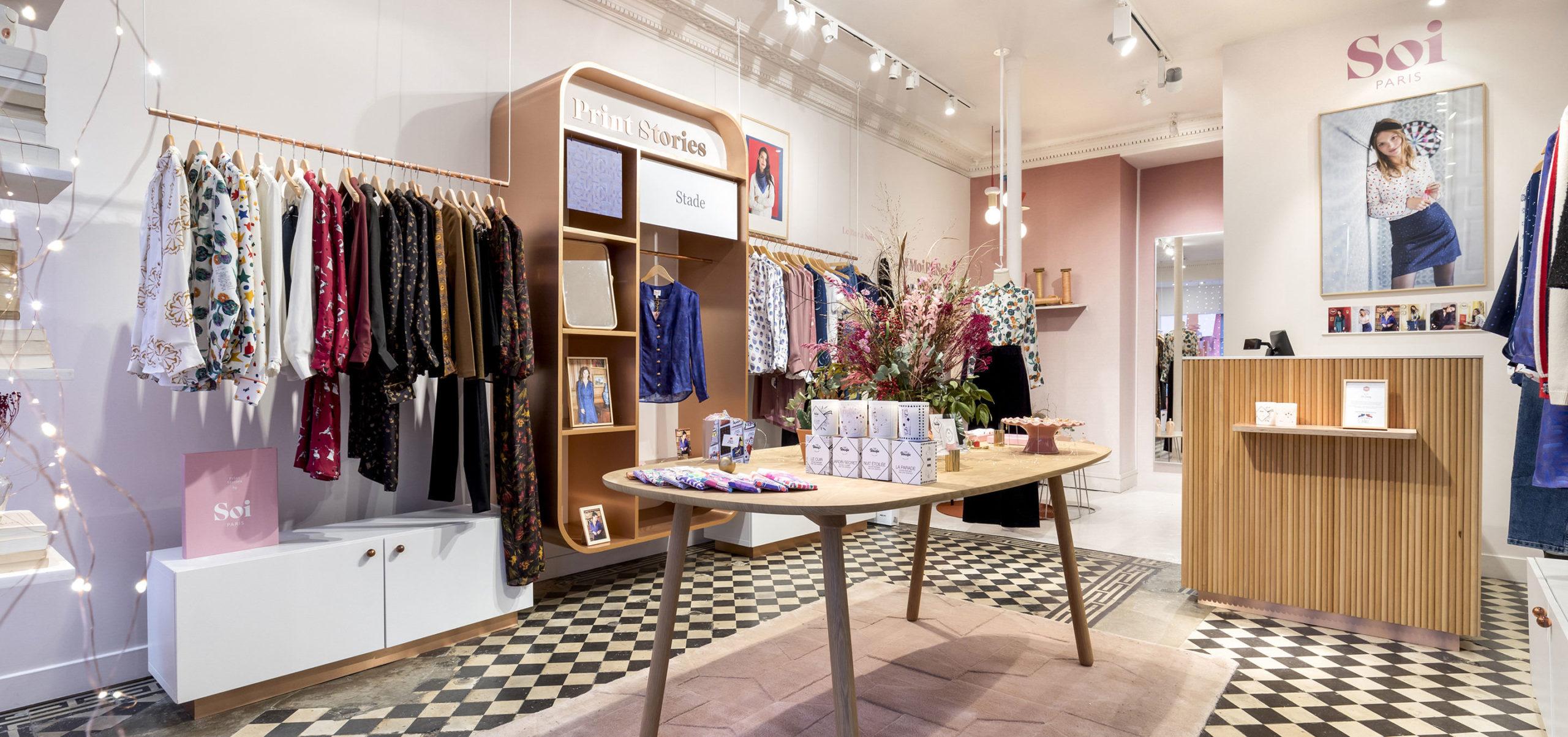 Boutique permanente Soi Paris, Marais
