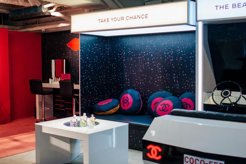 Pop up store Coco Game Center de Chanel