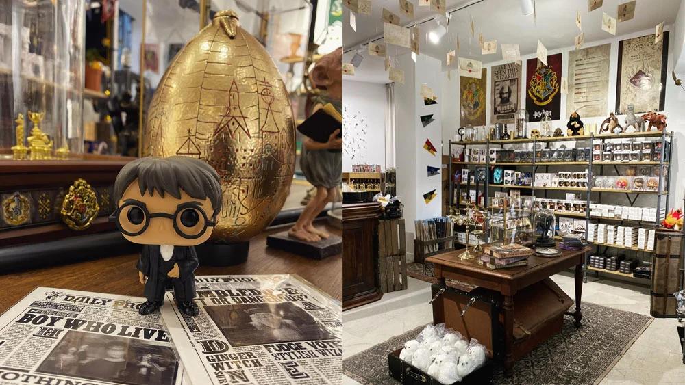 Pop up store Harry Potter à Nantes ©Bonbon