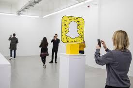 Un pop store Snapchat x Lego ©WWD