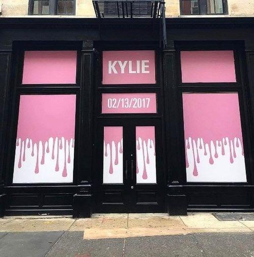 Pop up store Kylie Cosmetics à New York©Vogue
