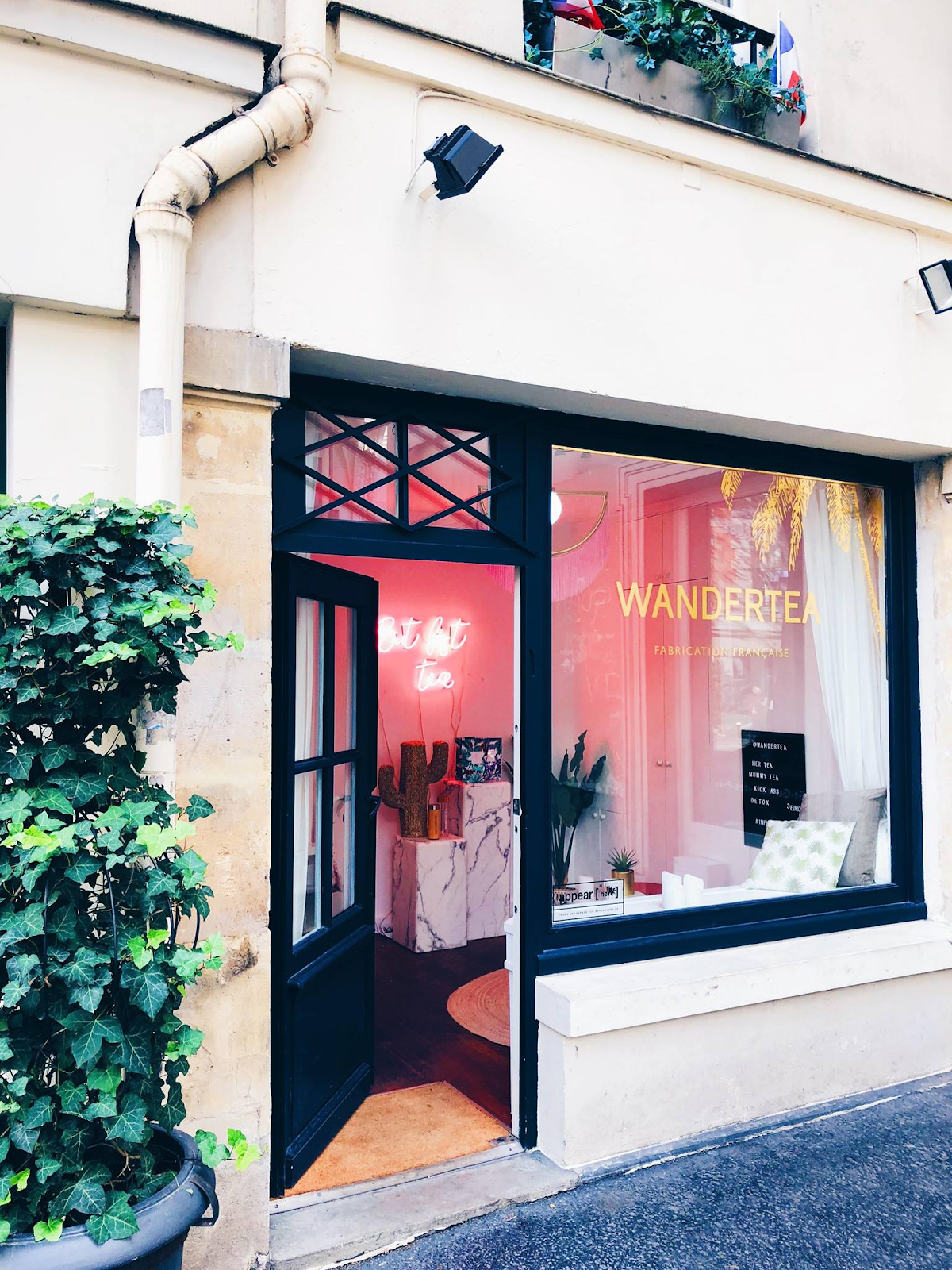 Boutique éphémère Wandertea ©Facebook Wandertea