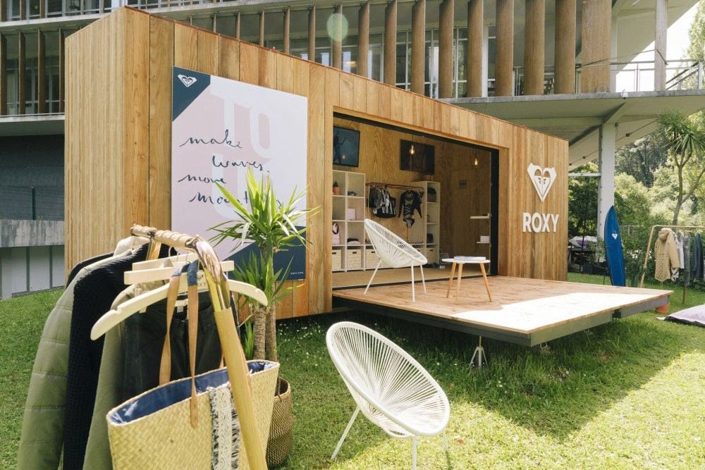 Pop up store nomade Roxy eco-friendly ©FashionNetwork