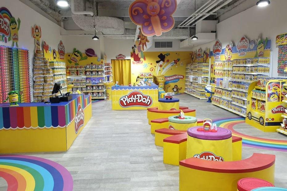 Le premier pop up store de la marque à pâte à modeler Play-Doh ©Hasbo