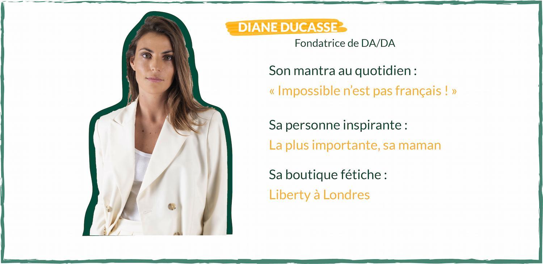 DA/DA, Diane Ducasse x Nestore : concilier notoriété et moyens limités