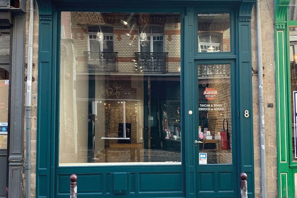 Location pop-up store Vieux Lille, rue de la Clef