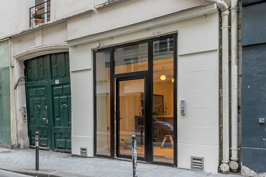 Showroom destined for events, 2nd Paris