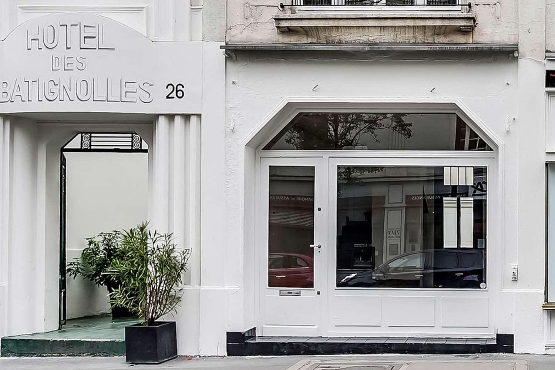 Pop-up store in Paris, in the Batignolles