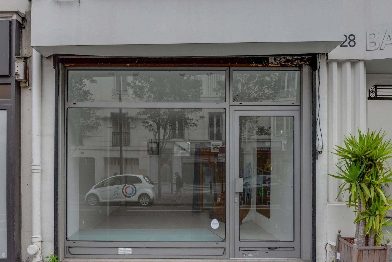 Rental ephemeral shop, Batignolles district, Paris