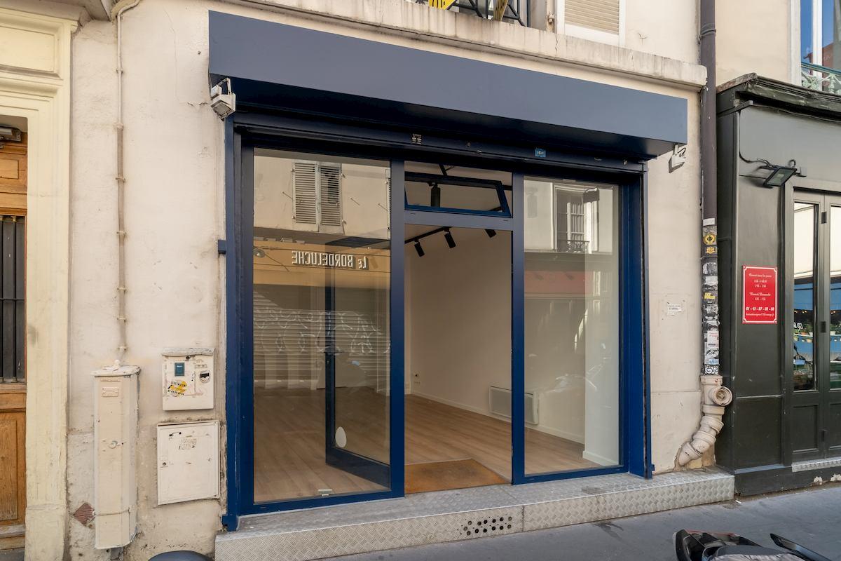 Pop-up store rental Paris, Batignolles