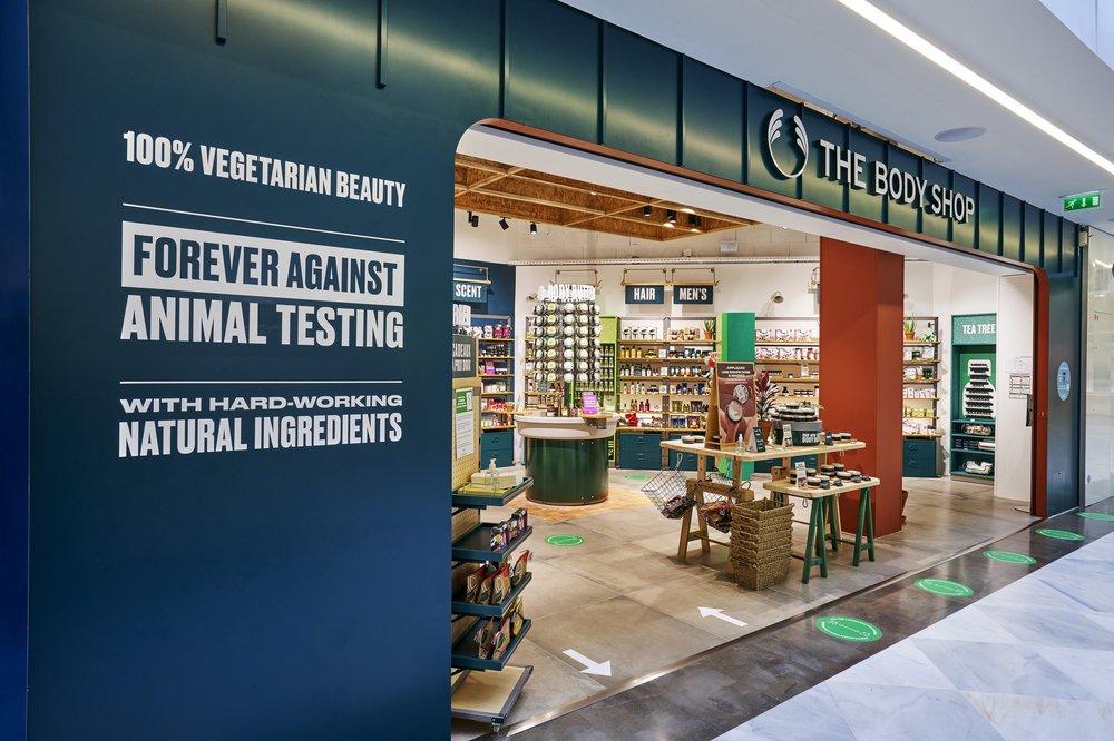 The Body Shop nouveau concept store Dijon