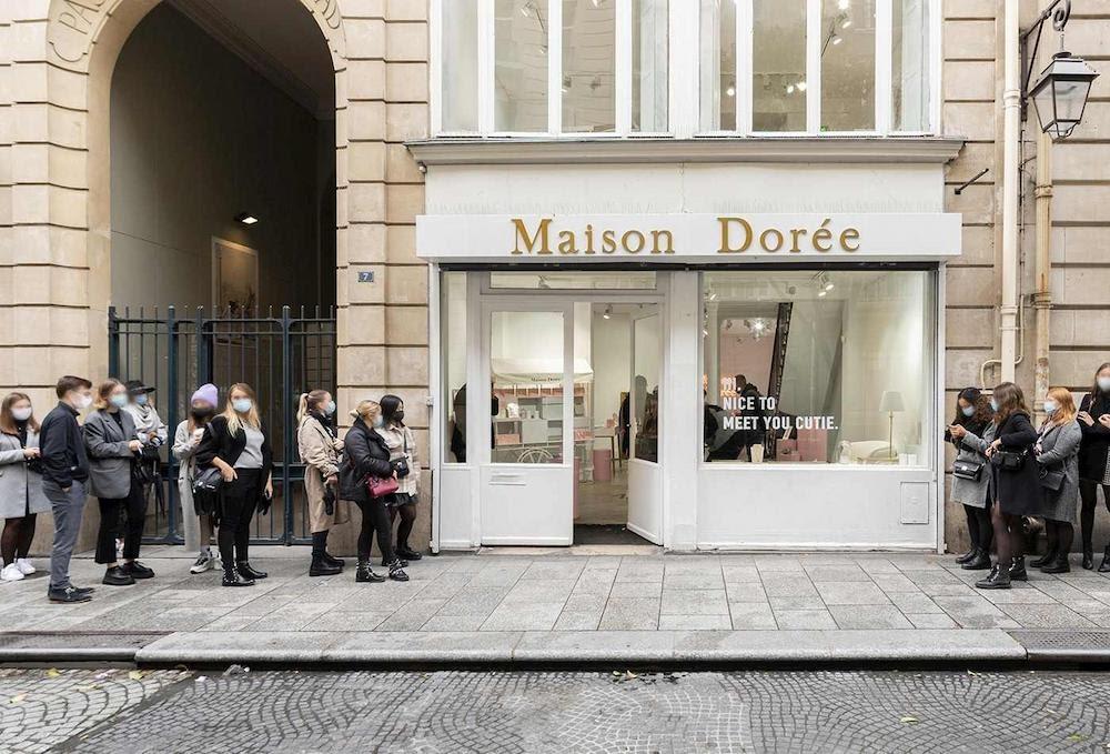 pop-up store Maison Dorée