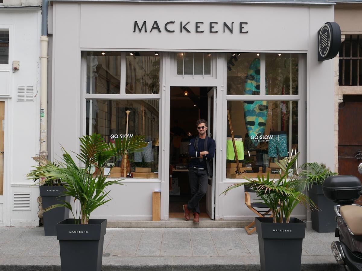 Pop-up store Mackeene