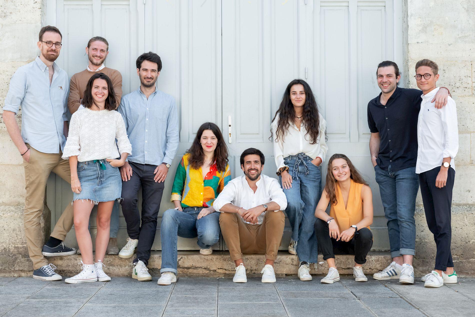 photo équipe Nestore