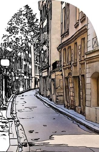 vue rue paris nestore