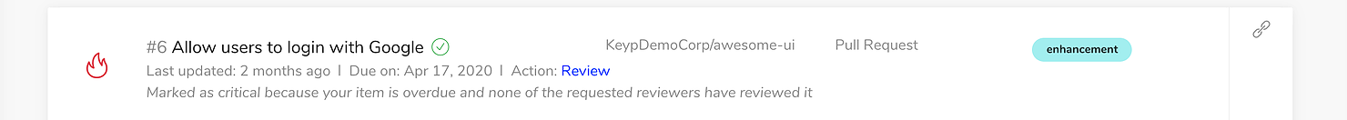 Review pull request