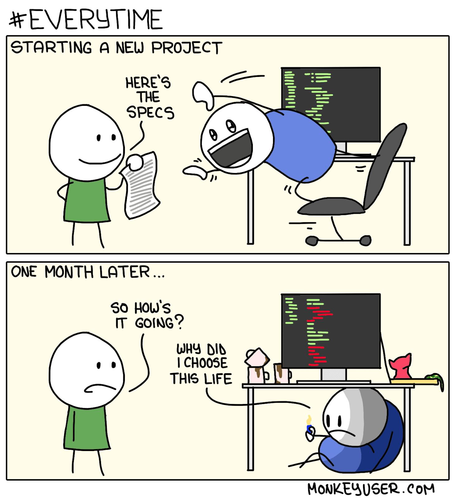 new development project