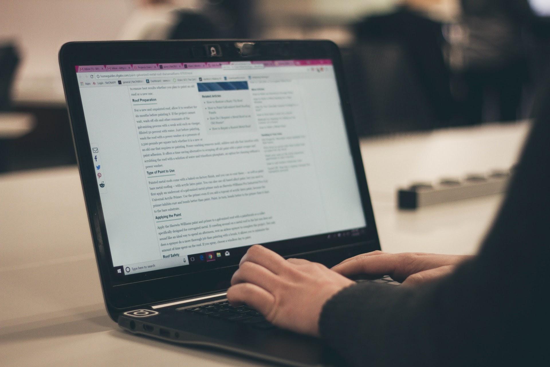 developers blogging - keypup