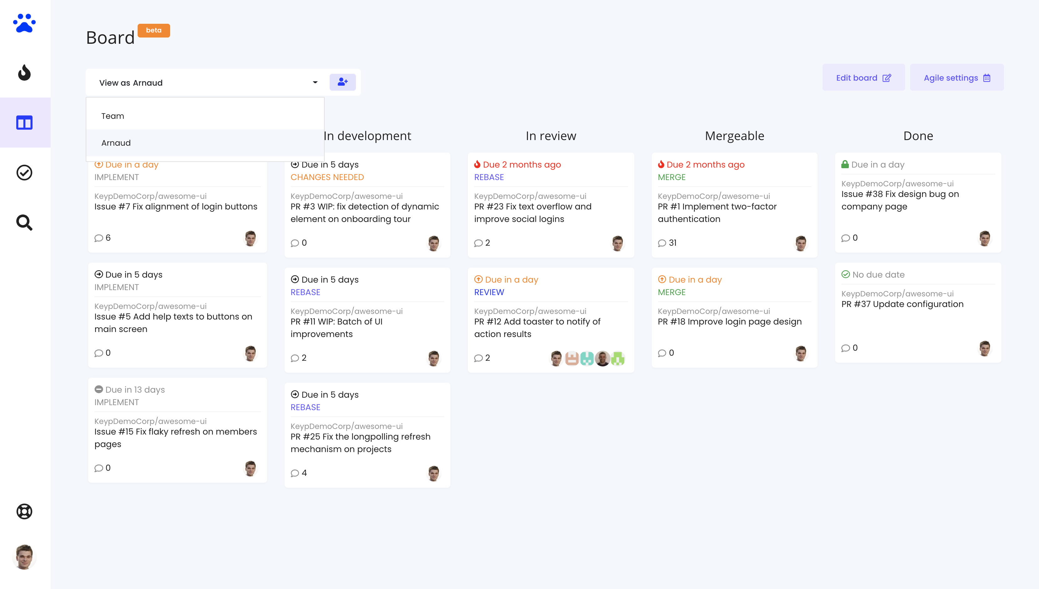 3 prioritization levels - Priority Inbox