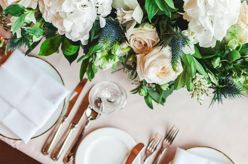 Wedding Planning During COVID 19 Reopenings Place Settings