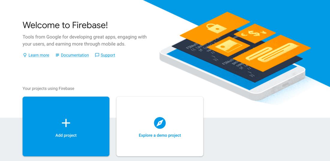 firebase-console-view