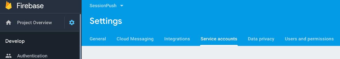 firebase-service-accounts