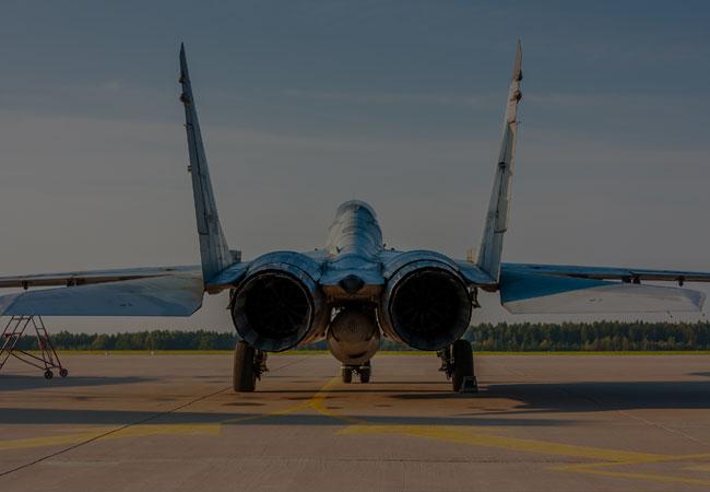 Fly in a fighter jet Czech Republic