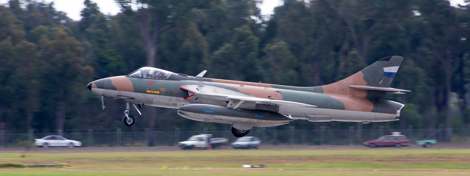 Fly a Hawker Hunter