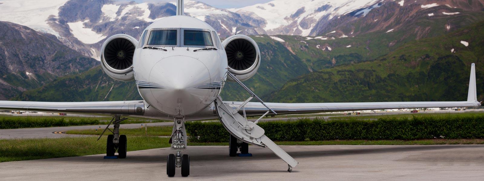 Private jet locations
