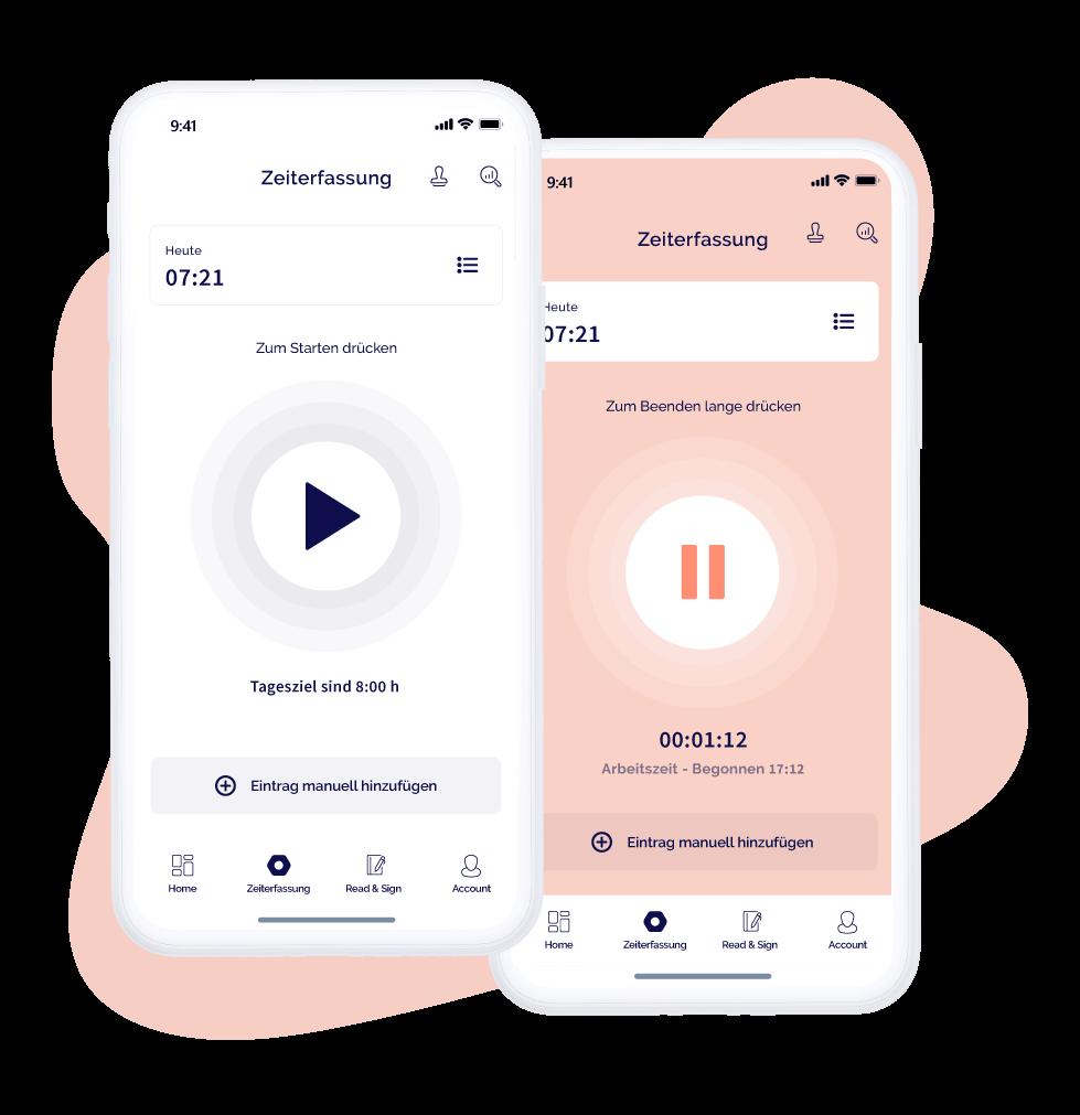 Zeiterfassung per App