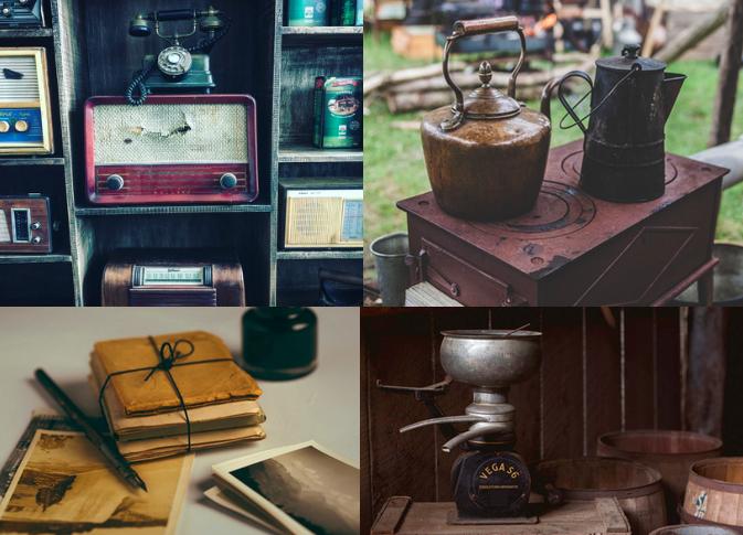 Ces objets disparus... sauf dans la mémoire de nos grands-parents.