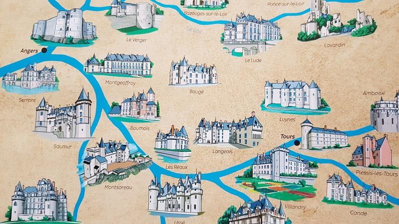 Les châteaux de la Loire : un thème royal pour une animation de rois