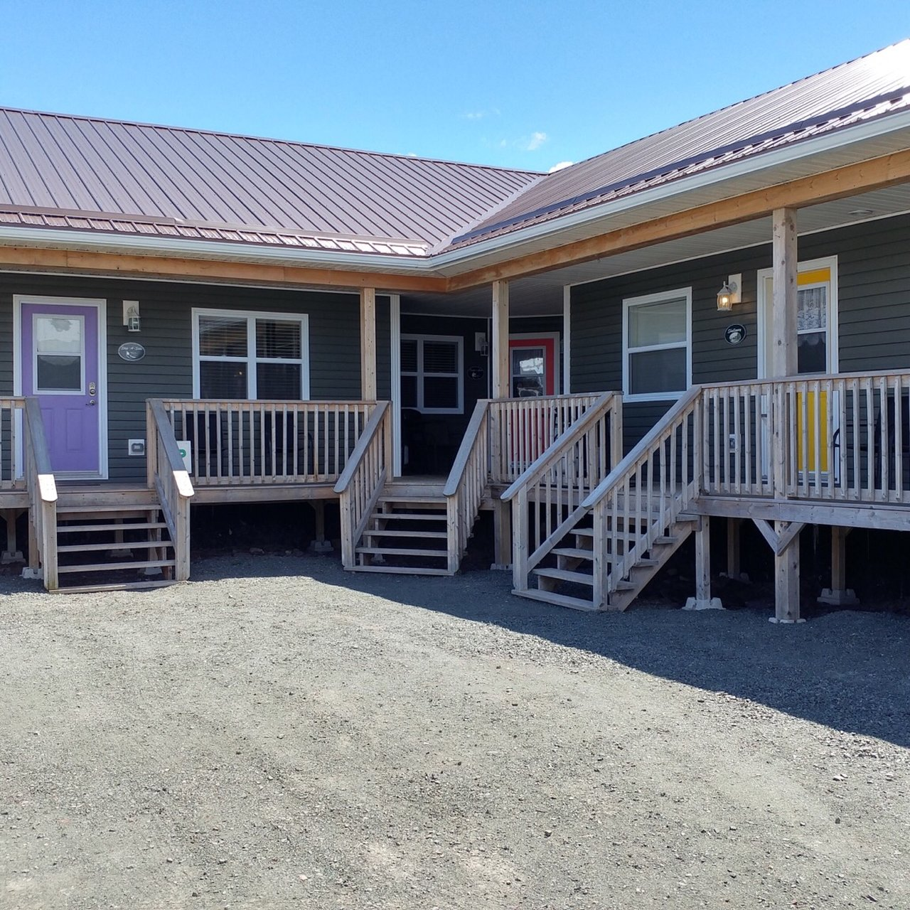 Burin Efficiency Units back building located in Salt Pond, Burin