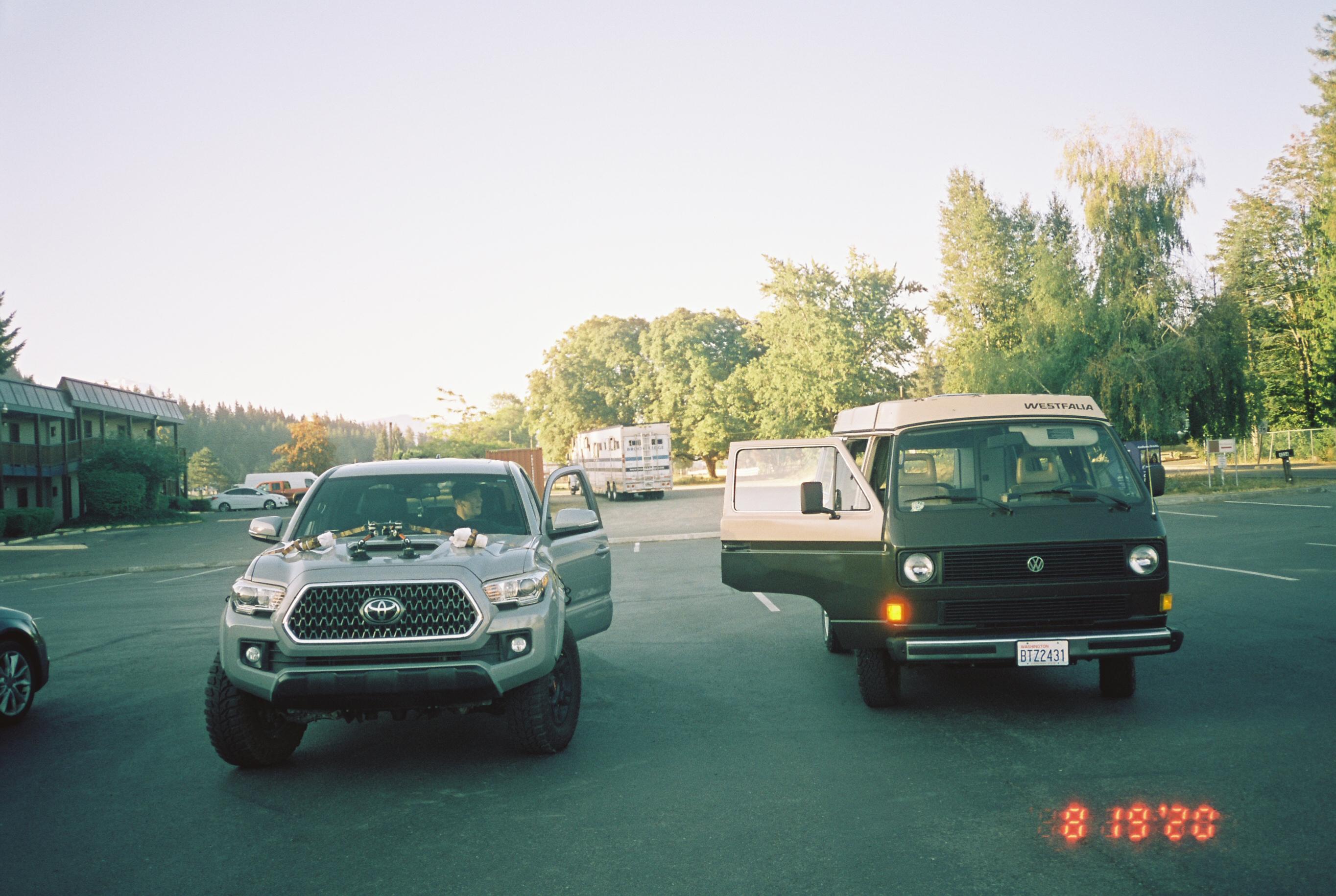 Westfalia & Tacoma