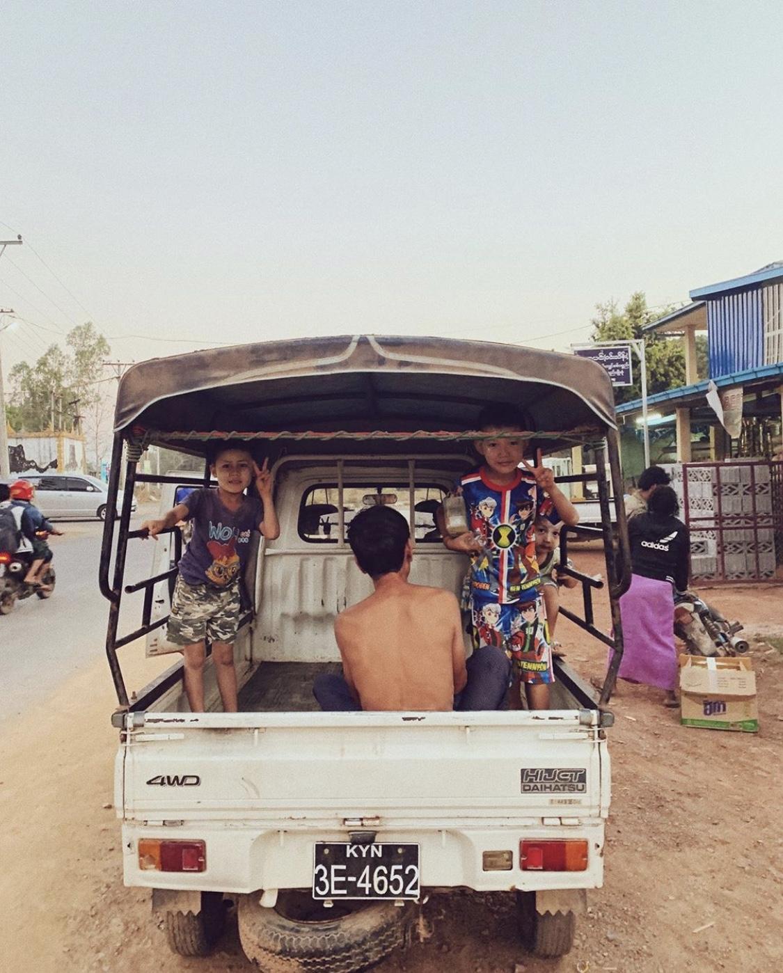 Myanmar Tuk Tuk