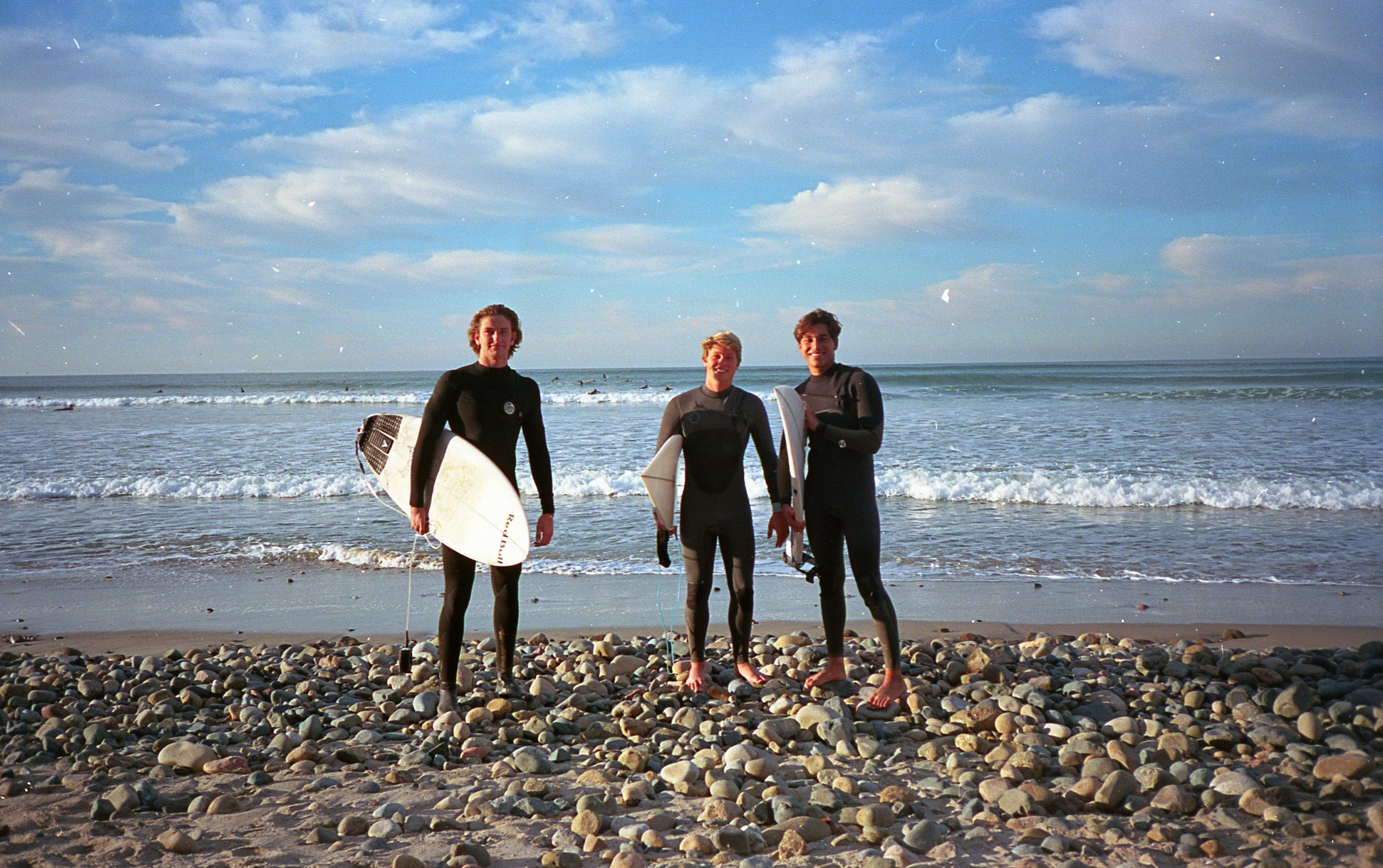 Surfer students Genie