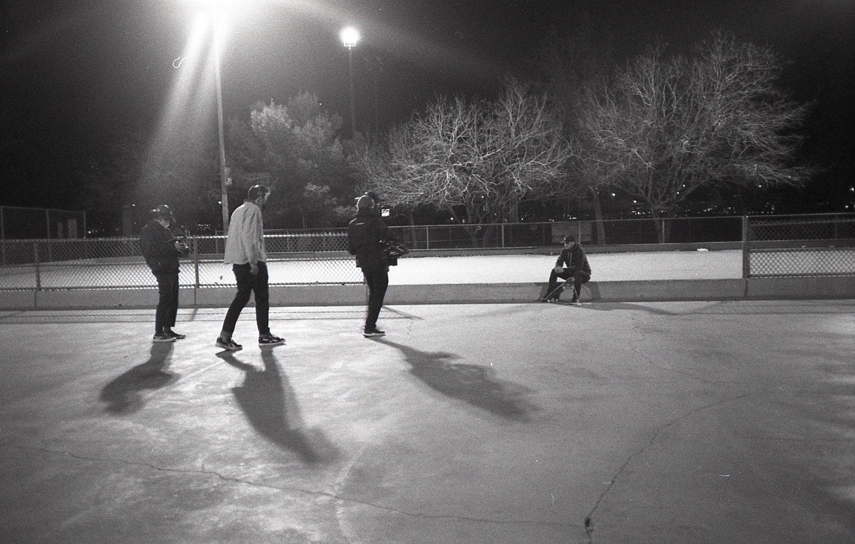 skatepark scene